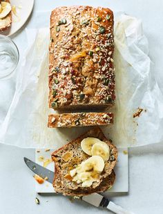 Looking for a healthier bake? Our seeded banana and apricot loaf recipe is wholesome as well as delicious. This low-fat option is great on its own or with sliced banana and a drizzle of maple syrup. Fabulous toasted, too!