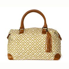 901eb9f85c8 The Weekender - Gold Ikat Freedom Partner