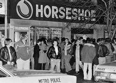 There is no live music club in Toronto with more history attached to it than the Horseshoe Tavern. Toronto Ontario Canada, Toronto City, Toronto Travel, Canadian History, Local History, Metro Police, Canadian Travel, Childhood Days, Places Of Interest