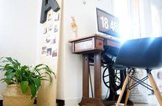 Chez moi // Mon coin bureau et des idées pour intégrer un espace de travail dans le séjour – DecouvrirDesign