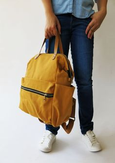 Personalized Leather Tote Bag Mustard Yellow Tote Leather Bag Washable Carryall Tote Bag Everyday Tote Bag Monogram Tote Bag Leather