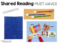 Great tools to use for shared reading!