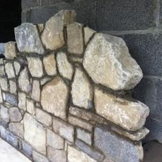 Stonepave supply a range of building stone / architectural stone products. Brick Cladding, House Cladding, Stone Masonry, Stone Veneer, Dry Stone, Brick And Stone, Natural Stone Wall, Natural Stones, Building A Stone Wall