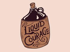 A help in a difficult situation! Liquid Courage