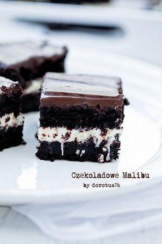 Moje Wypieki | Ekstremalnie czekoladowe ciasto 'Czekoladowe Malibu'