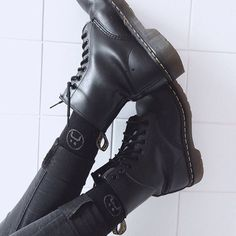 It's time to pull off these drmartens! #grunge #alternative #grungegirl #goth