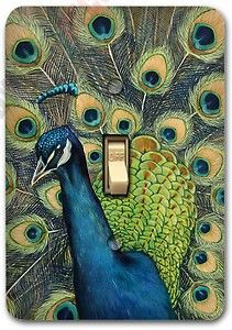 Details about Peacock Metal Light Switch Plate Cover Single Kitchen Bath Bed Home Decor 533 Kitchen Decoration peacock kitchen decor Peacock Bedroom, Peacock Decor, Peacock Art, Peacock Colors, Peacock Feathers, Peacock Bedding, Peacock Blue, Switch Plate Covers, Light Switch Plates