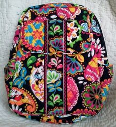 Vera Bradley Disney Backpack Midnight with Mickey New With Tags