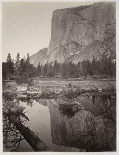 Mirror View - El Capitan, Yosemite.