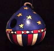 Image result for patriotic gourds