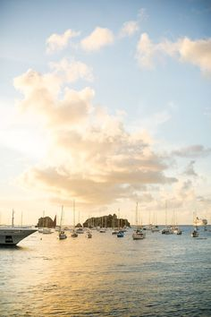 Look at that gorgeous sunset lighting in St. Barthelemy!