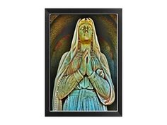 Gothic Dark Art Mother Mary Virginia 4x6 by twistedpixelstudio, $12.00