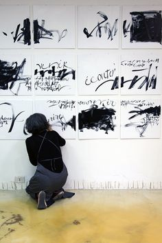 Live calligraphy -Fuorisalone 2010, by Francesca Biasetton  #art