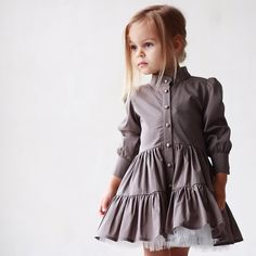 15 Ideas for style girl kids Baby Girl Fashion, Kids Fashion, Fashion Outfits, Little Girl Dresses, Girls Dresses, Designer Baby Clothes, Baby Couture, Cute Toddler Girl Clothes, Mode Hijab