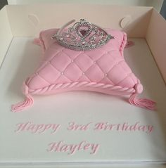 princess pillow cake- perfect