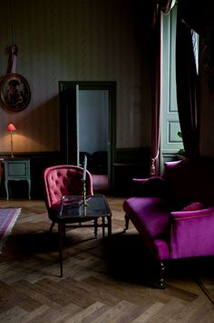"saturated jewel tones from ""An Enchanted Castle in Sweden"" (Remodelista)"