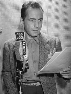 "my-retro-vintage: "" Humphrey Bogart in a publicity photo 1945 """