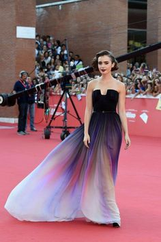 Lily Collins' style and fashion transformation—her best red carpet looks over the years. Love, Rosie Red Carpet October 2014