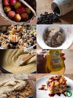 Kuchařka ze Svatojánu: MANDLOVÝ POLENTOVNÍK S JABLKY Polenta, Sweet Life, Oatmeal, Tacos, Mexican, Breakfast, Ethnic Recipes, Food, The Oatmeal