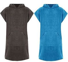 Unisex hooded 100% #cotton changing robe beach #terry #towelling surf poncho towe, View more on the LINK: http://www.zeppy.io/product/gb/2/232066254314/
