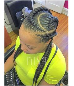 Idée Couleur & Coiffure Femme 2018 : Goddess braids…love this! African Braids Hairstyles, Girl Hairstyles, Braided Hairstyles, Black Girl Braids, Girls Braids, Love Hair, Great Hair, Twisted Hair, Pelo Natural