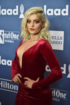 Bebe Rexha Photos Photos - Performer Bebe Rexha attends the 27th Annual GLAAD Media Awards in New York on May 14, 2016 in New York City. - 27th Annual GLAAD Media Awards in New York - Red Carpet