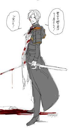 Otaku, Touken Ranbu, Anime Characters, Sword, Manga, Illustration, Life, Beautiful Things, Manga Anime
