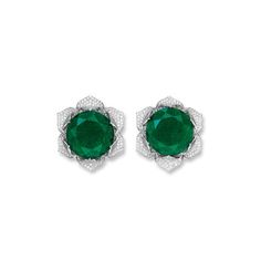 flower stud harry winston - Google Search