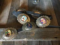 Barbosa Pin-Up Cowgirl BLK Ladies Belt