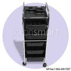 Rolling Perm Cart Trolley Beauty Salon Equipment