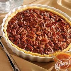 Caramel Pecan Pie from Crisco®