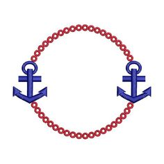 Anchor nautical monogram font frame machine embroidery design for instant download. Includes 2 sizes, one for the 4x4 hoop and one for the 5x7 hoop or larger. Please see second photo for size of each design. You may stitch and sell your finished projects. You may not sell or