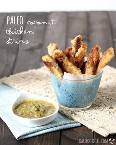 PALEO: Coconut Chicken Strips & A Giveaway! — Bare Root