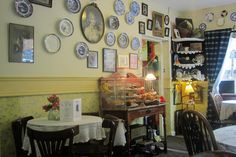 Clarinda's Tea House, Edinburgh, lovely!  Cakes are delicious and you have to buy scones! Best coffee on Royal Mile. Canongate, near Holyrood Palace  Photo by: Katarzyna Pracuch