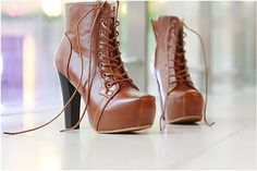 Love!!! 2011 Fashion Winter Women Martin Thick Heel Shoelace Ankle Boots1