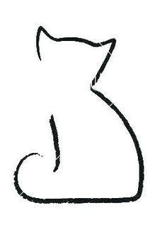 Little cat tattoo - simple and perfect - cats - . - Little cat tattoo – simple and perfect – cats – - Tattoo On, Piercing Tattoo, Body Art Tattoos, Cool Tattoos, Piercings, Cat Outline Tattoo, Black Cat Tattoos, Small Cat Tattoos, Tiny Cat Tattoo