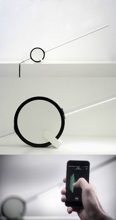 A LAMP THAT GIVES YOU CONTROL #Lamp #Lighting #Design #Minimal #Modern #Product…