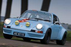Front- Speed Service Porsche 911 RSR 1973