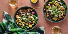 Roasted Vegetable Bowls | Plant-Based Recipes...