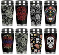 Muertos coffee mug.... i need these!!