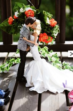 Barbie & Ken wedding photos