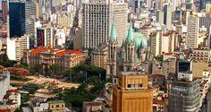 View from the 41st floor of the Circolo Italiano, Sao Paulo #Brazil