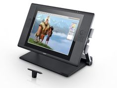 Cintiq 24HD touch: Touch + Stylus? The best of both.