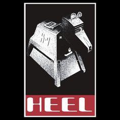 Heel before K-9 t-shirt