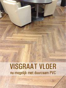 Visgraat vloer nu mogelijk met duurzaam PVC