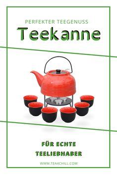 Die rote Teekanne Nelly ist ein echtes Schmuckstück, das zudem mit vielen funktionalen Eigenschaften zu überzeugen weiß. Das formschöne und moderne Modell Nelly ist aus hitzebeständiger und absolut hochwertiger Keramik gefertigt und hat ein optimales Fassungsvermögen von 1,5 Litern. #teezeit #teeliebhaber Tee Set, Stabil, Canning, How To Make Tea, Tea Pots, Cuppa Tea, Home Canning, Conservation