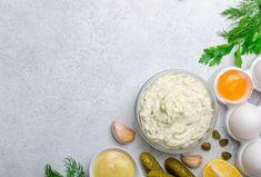 Domácí tatarská omáčka Mayonnaise, Sauce Mousseline, Sauce Béchamel, Sauce Hollandaise, Ethnic Recipes, Food, Pickles, Kitchens, Essen