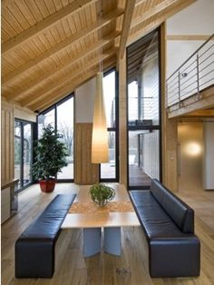 Build your new home with Stommel Haus - Contemporary - Sustainable - Timber House - Press 3 Bedroom Flat, 4 Bedroom House, Stommel Haus, Flat Pack Homes, Modern, Contemporary, Timber House, Bespoke Design, Dining Room Design