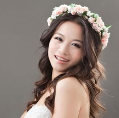 2016 Cute Flower Headbands White Baby Hairbands Acessorios Para Cabelo Flower Crowns Hot Sale Women Hair Accessories