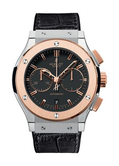 Classic Fusion Titanium King Gold Chronograph watch from Hublot